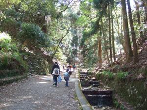 銀閣寺から大文字へ@京都