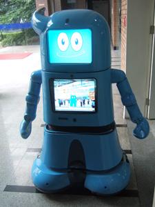 上海万博に登場したロボット@浙江大学