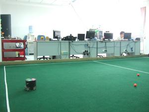 サッカーロボット@浙江大学