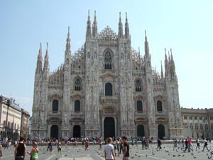 でかい!ドゥオーモ(Duomo)@ミラノ