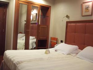 Hotel Berna Milanoの客室@ミラノ