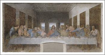レオナルド・ダ・ヴィンチの「最後の晩餐」@ミラノ