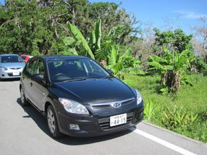 レンタカーは現代@沖縄研究室旅行