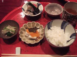 ご飯と漬け物@草喰 なかひがし