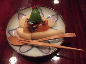 クリスマスっぽいデザート@草喰 なかひがし