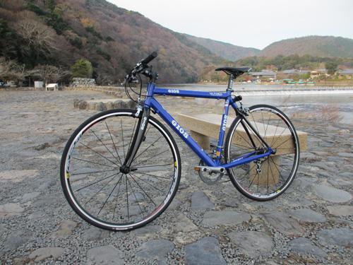 GIOS ULTIMO 2012年モデル@京都嵐山