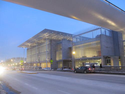 シカゴ美術館の近代的な建物