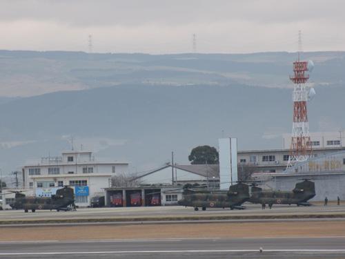自衛隊機@阿蘇熊本空港