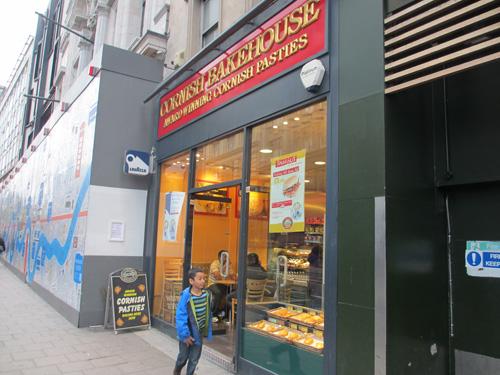 ロンドンのパイ屋さん
