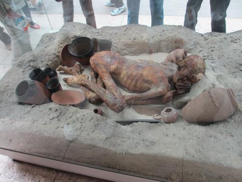 古代エジプトで埋葬された普通の人がミイラになった@ロンドン大英博物館