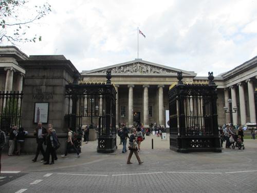 大英帝国が誇る大英博物館@ロンドン