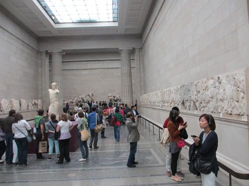 古代ギリシアのパルテノン神殿を盗んできました@ロンドン大英博物館