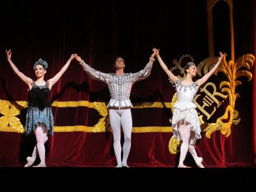 バレエのカーテンコール@ロイヤルオペラハウス