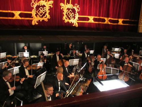 ロイヤルオペラハウスのオーケストラ@ロンドン