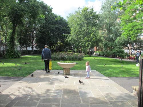 UCL近くの公園@ロンドン