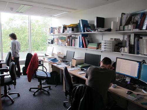 UCLの共同研究者の居室@ロンドン