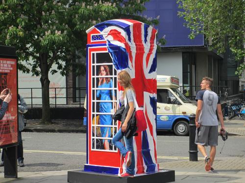 電話ボックス@ロンドン