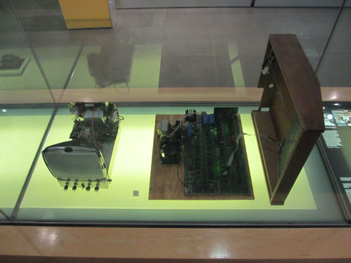 初代Apple I Home Computer 1976@ロンドン科学博物館