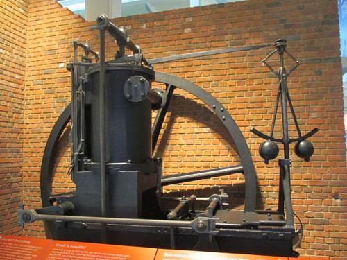 ワットのエンジン 1810 制御の起源@ロンドン科学博物館