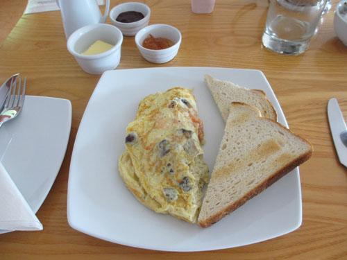 Asperion Hotelのオーガニックな朝食@ギルフォード