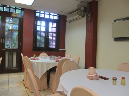 ヒルマンレストランの2階@シンガポール