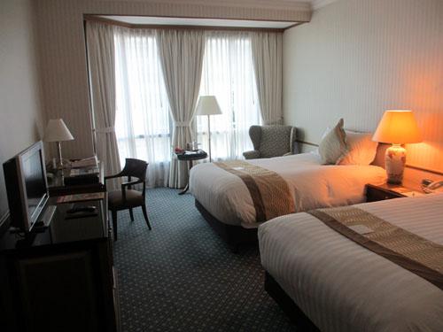 InterContinental Hotelの客室@シンガポール