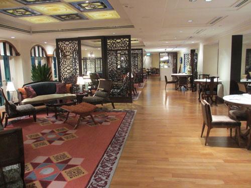 InterContinental Hotelのクラブラウンジ@シンガポール