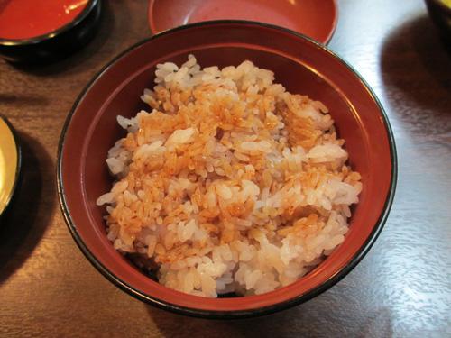 ご飯おかわり@うなぎ料理専門店あつみ