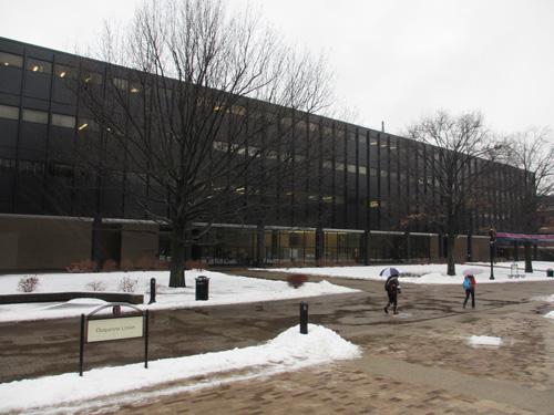 DCPTも入っている薬学系の建物@The Duquesne University