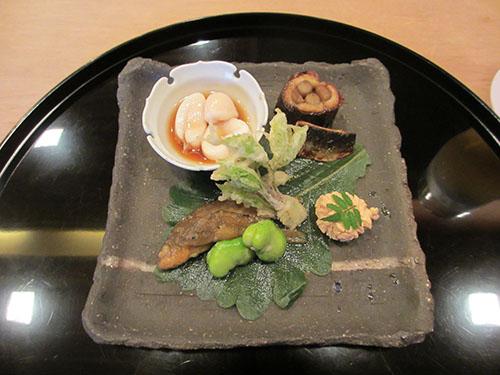 鯛の白子などなど八寸@祇園櫻川