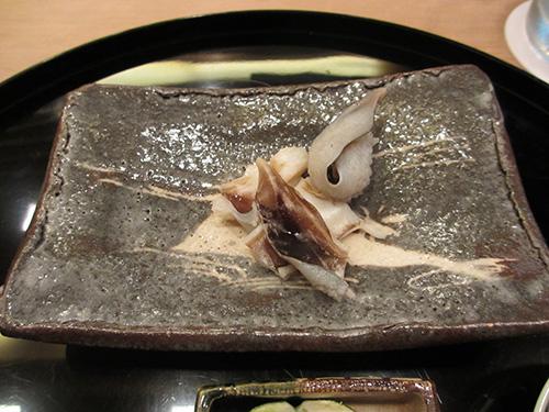 鳥貝をあぶったの@祇園櫻川