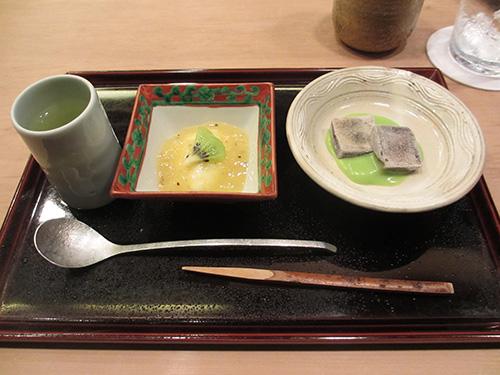 最後のデザート@祇園櫻川