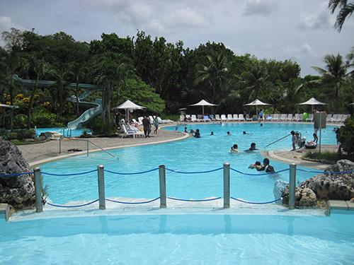 子供用プールからの眺め@ホテルニッコーグアム
