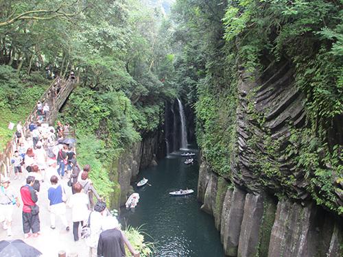 高千穂峡と真名井の滝