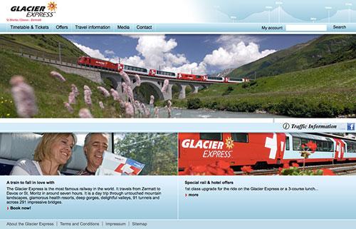 グレッシャー・エクスプレス(氷河急行)公式ホームページ