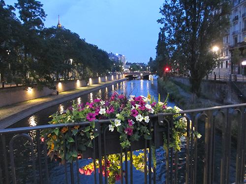"""""""旧市街を取り囲むイル川@ストラスブール,フランス"""""""