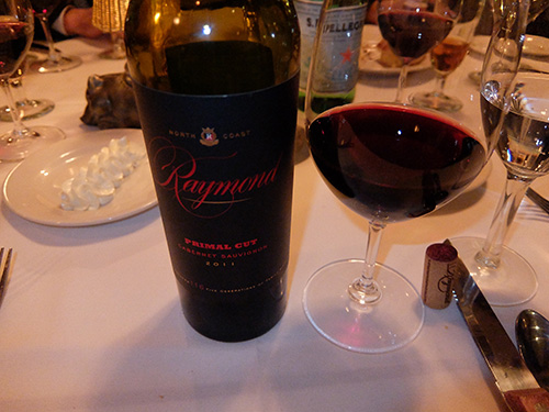 """""""お勧めのアメリカ赤ワイン@Morton's"""