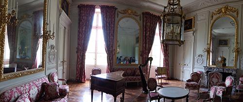 """""""マリー・アントワネットが過ごした小トリアノンの部屋@ベルサイユ宮殿"""""""