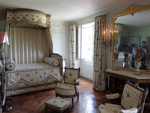 """""""小トリアノンにあるマリー・アントワネットのベッドルーム@ベルサイユ宮殿"""""""