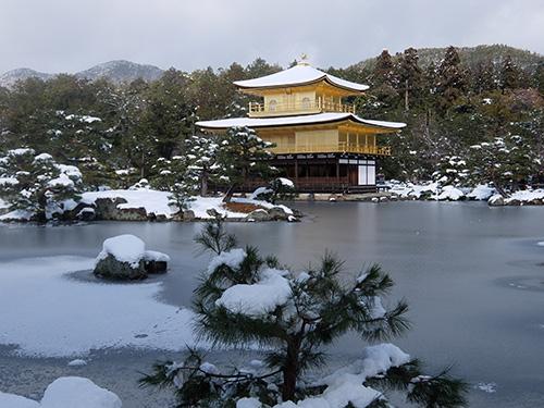 """""""雪の金閣寺"""""""