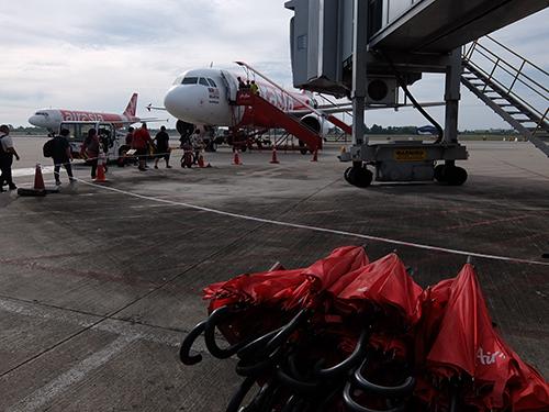 """""""初めてのLCC利用AirAsia@ミリ空港"""""""