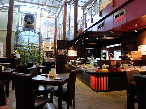 """""""ホテルの朝食レストラン@AMOY"""
