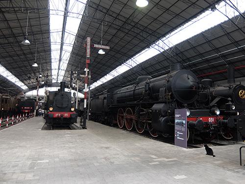 """""""蒸気機関車@レオナルドダヴィンチ科学技術博物館"""""""