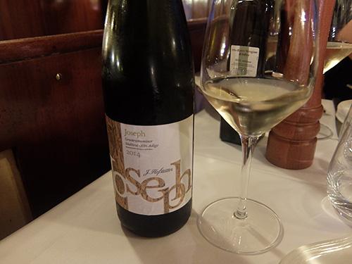 美味しい白ワイン@Ristorante Da Bruno,ミラノ