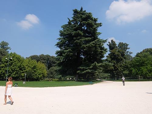 """""""広大なセンピオーネ公園@ミラノ"""""""
