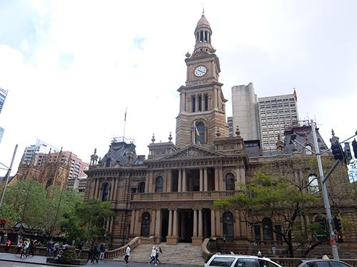 """""""シドニー・タウンホール(Sydney"""
