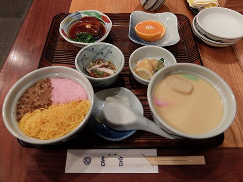 """""""茶碗むしと蒸し寿司が食べられる吉宗定食@長崎"""""""