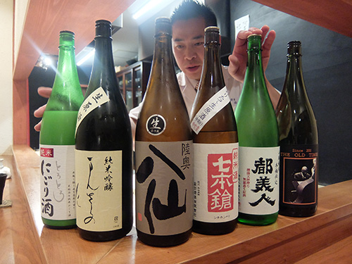 """""""とにかく日本酒がいっぱい@佳肴岡もと"""""""