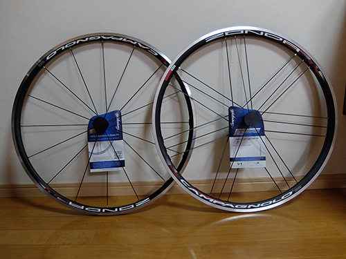 """G3スポークが印象的なCampagnolo"
