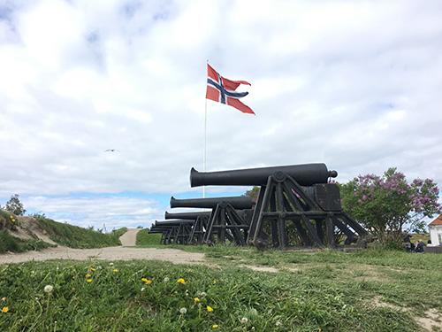 クリスチャン要塞の大砲@トロンハイム